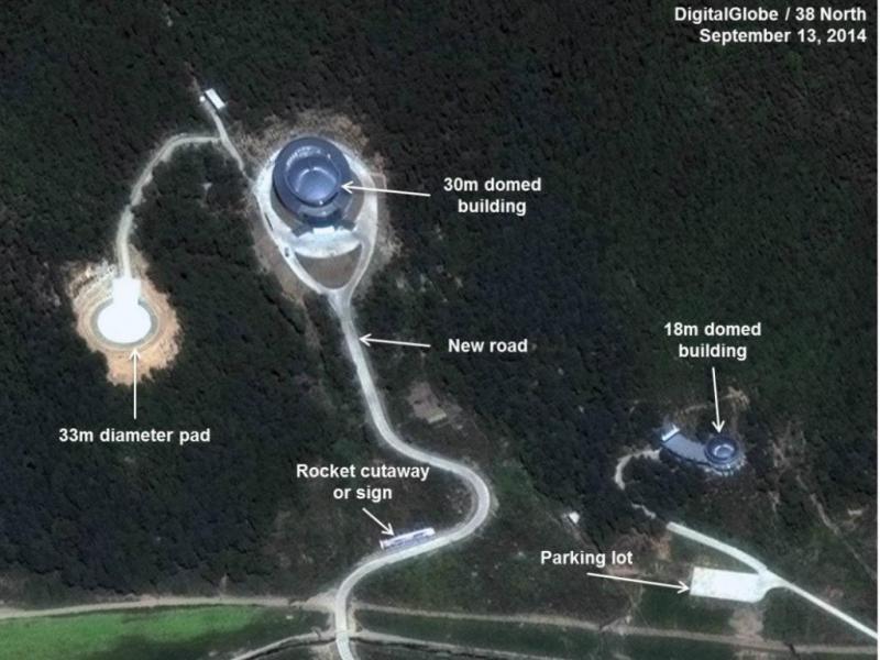 Coreia do Norte conclui melhorias na base de lançamento de rockets [38 North]
