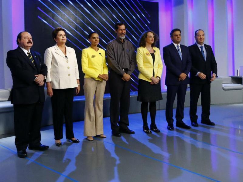 Último debate entre candidatos à presidência do Brasil