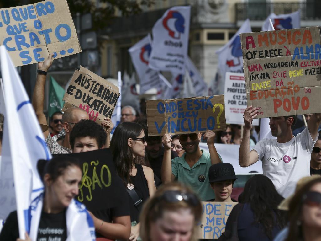 Manifestação Nacional de Professores em Lisboa