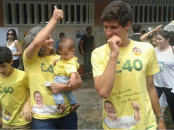 Família de Eduardo Campos (Foto Twitter)