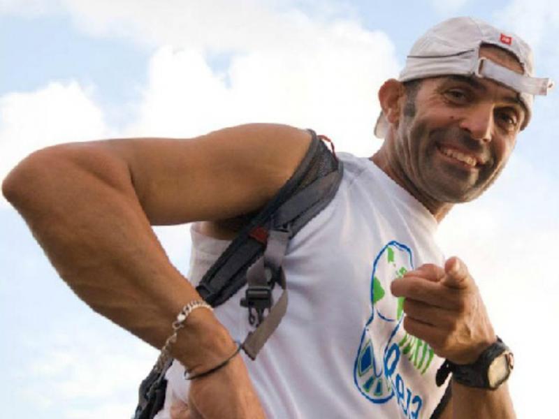 Reza Baluchi (Foto: runwithreza.org)
