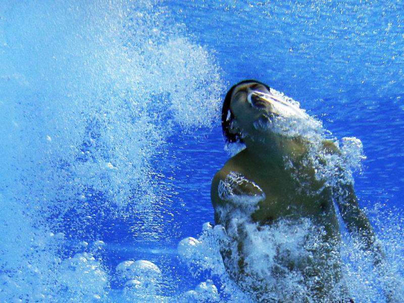 Mergulhador [Foto: Reuters]