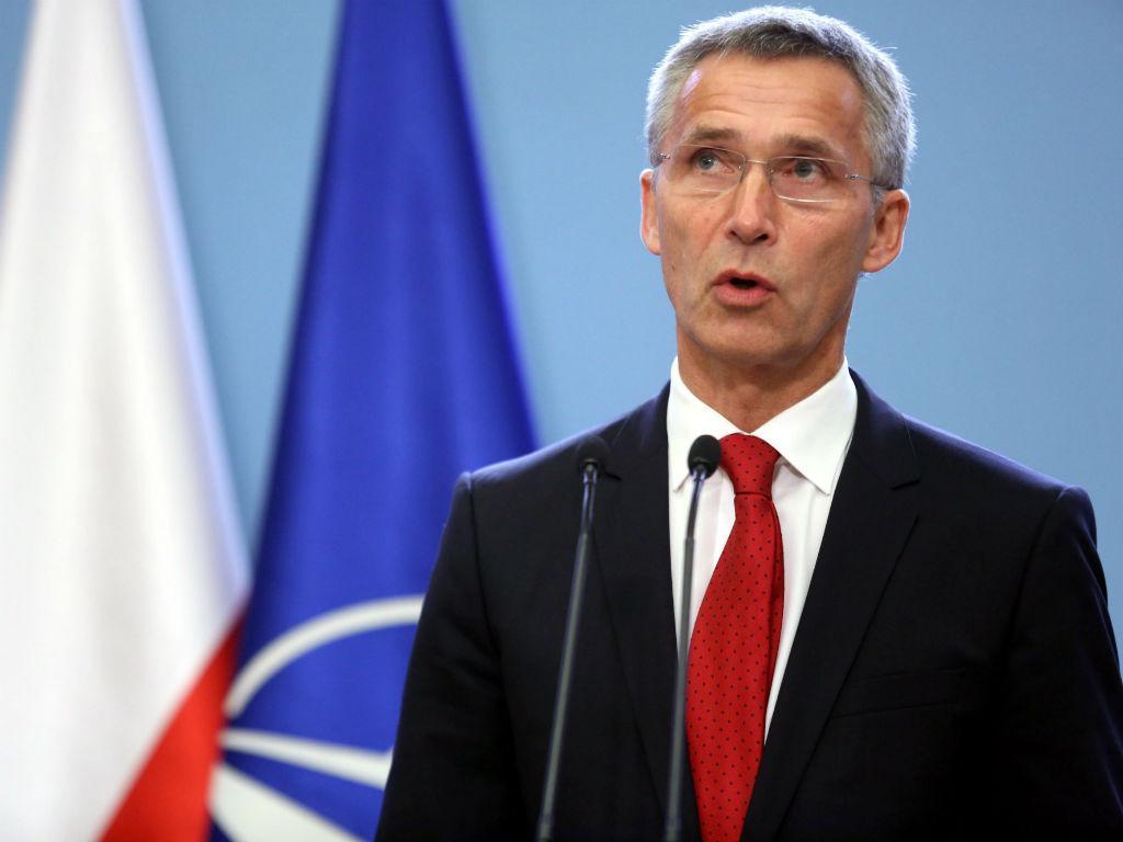 O Secretário-geral da NATO, Jens Stoltenberg (LUSA/EPA)