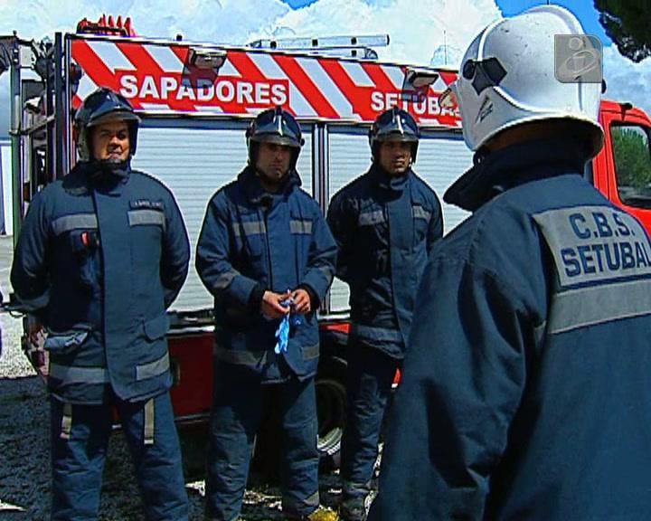 Há uma nova geração de bombeiros em Portugal