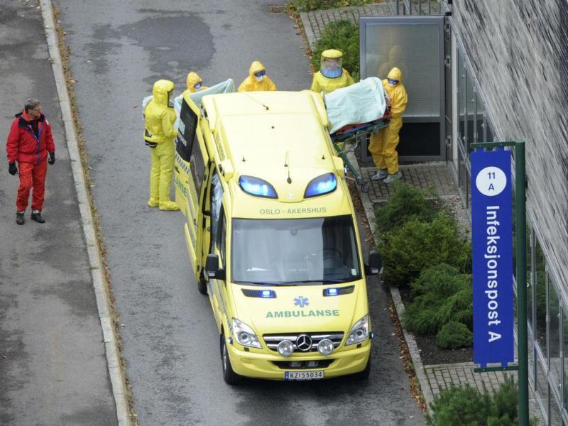 Médica norueguesa com ébola [Foto: EPA]