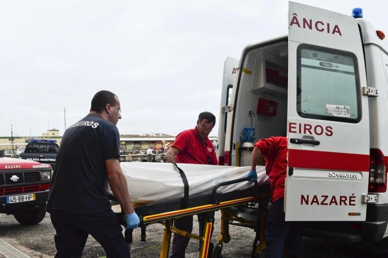 Encontrado corpo de turista alemão que se afogou na Nazaré [Foto: Lusa]