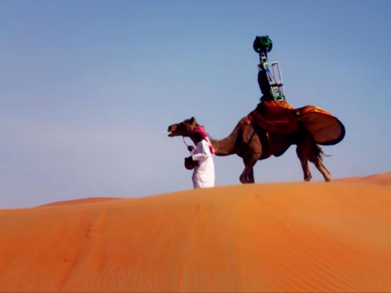 «Street View» já chegou ao deserto