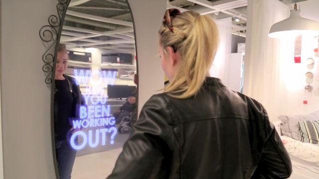 Espelho falante do IKEA