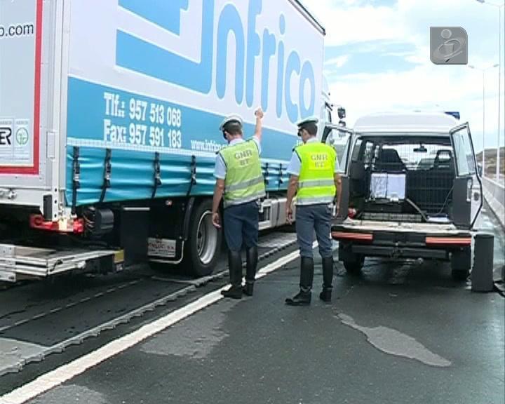 GNR apanha camiões com excesso de peso