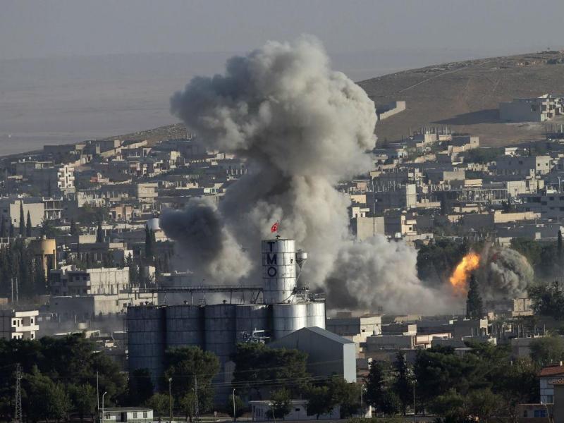 Kobani, Síria (LUSA/EPA)
