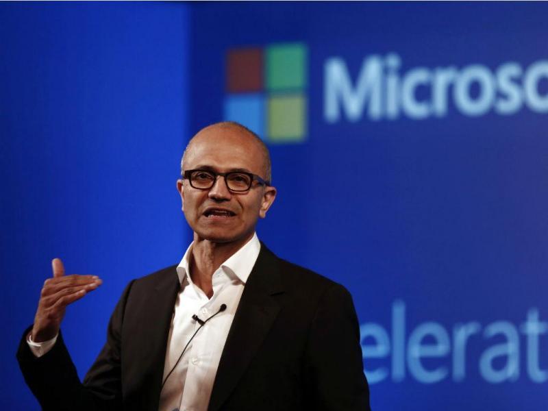 Satya Nadella, presidente executivo da Microsoft [Foto: Reuters]