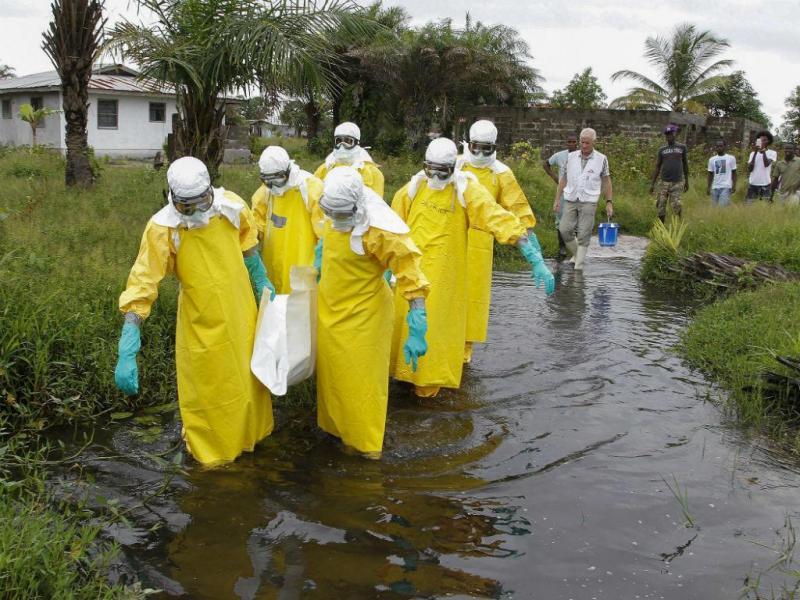 Ébola na Libéria [Foto: EPA]