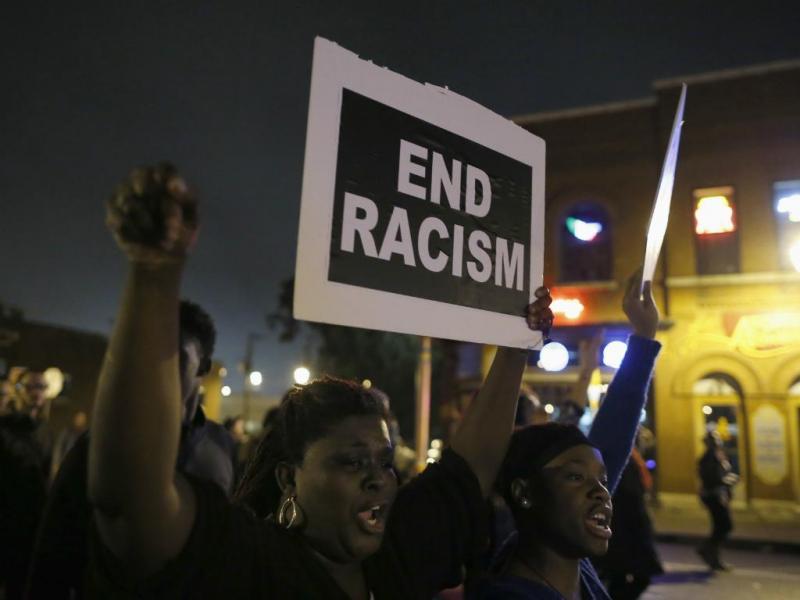 Manifestação contra racismo nos EUA [Reuters]