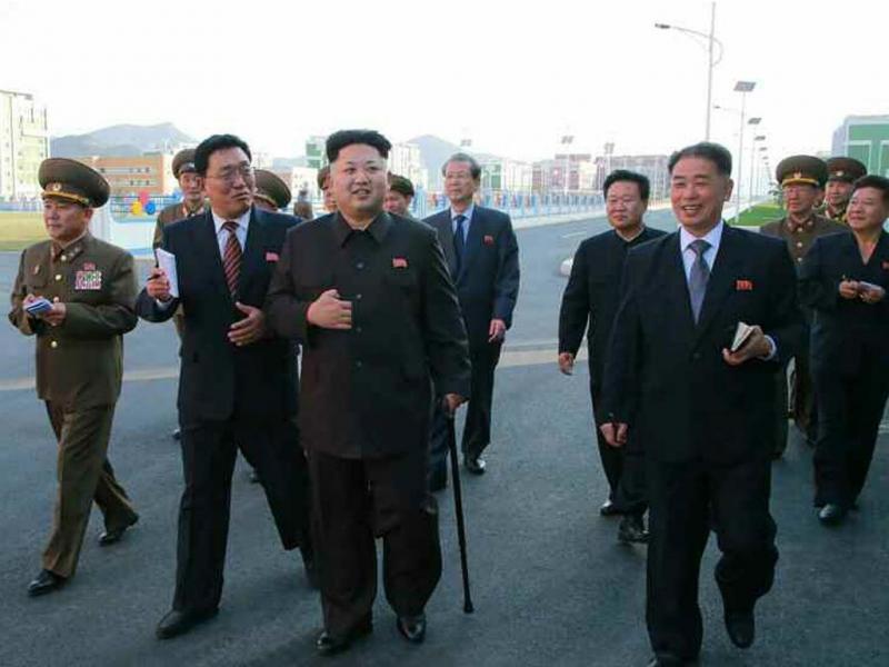 Kim Jong Un reaparece [EPA]