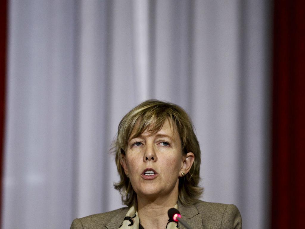 Maria Luís Albuquerque apresenta OE2015 (LUSA)
