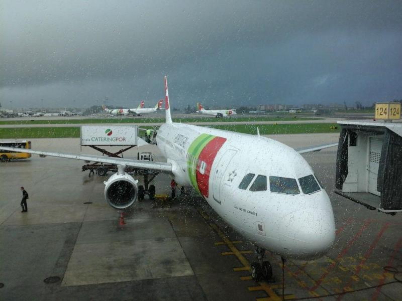 Avisão da TAP avaria-se já com passageiros a bordo (DR)