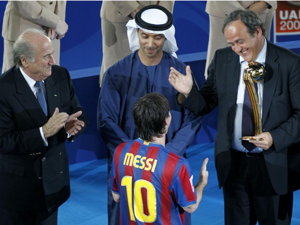 Messi eleito o melhor jogador do Mundial de Clubes (Ahmed Jadallah/Reuters)