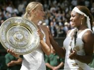 Maria Sharapova e Serena Williams (Reuters)