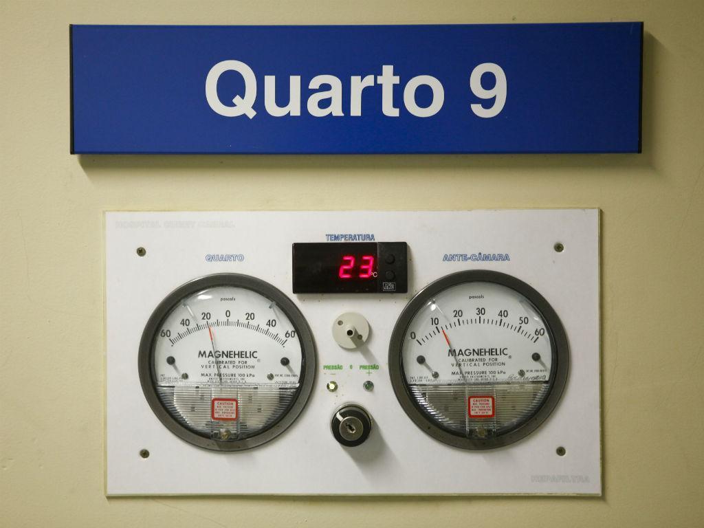 Ébola: Serviço de Doenças Infecciosas do Hospital Curry Cabral (JOSÉ SENA GOULÃO/LUSA)