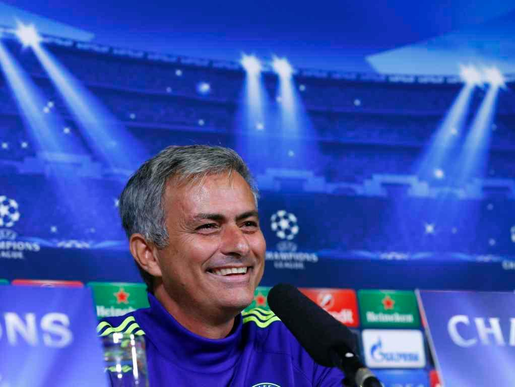 Chelsea a aquecer para o Maribor