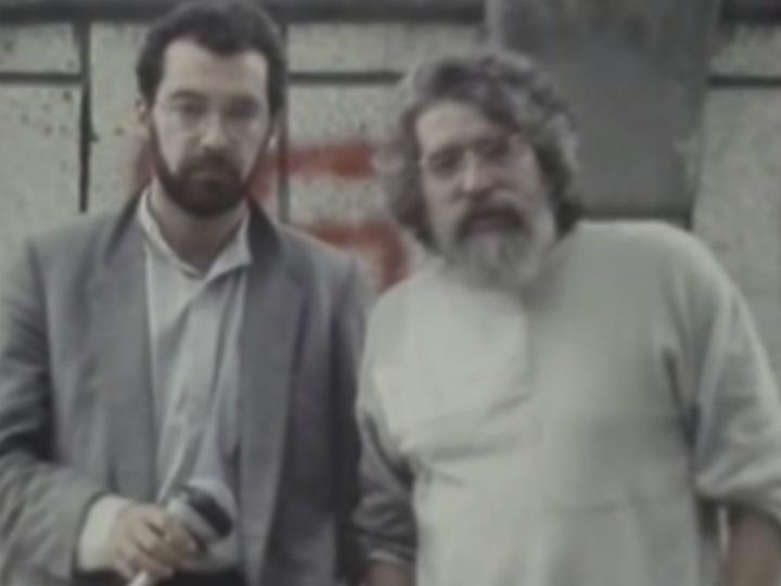 Mário Lindolfo (à direita na imagem)