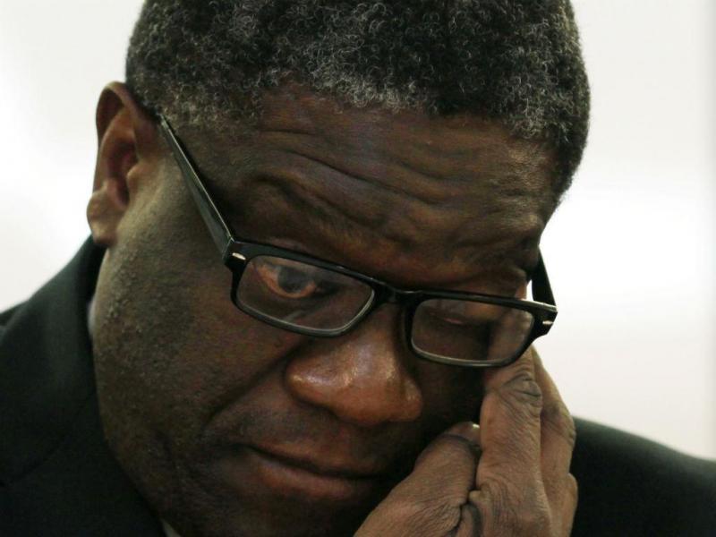 Ginecologista Denis Mukwege vence prémio Sakharov (REUTERS)