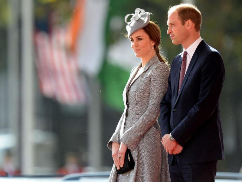 Kate Middleton grávida do segundo filho (EPA/LUSA)