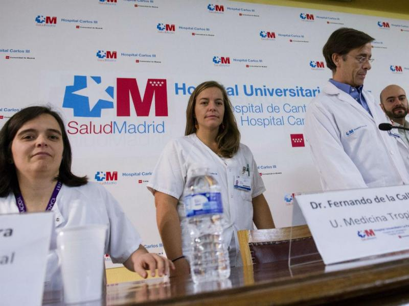 Equipa médica espanhola anuncia a cura de Teresa Romero (EPA/LUSA)