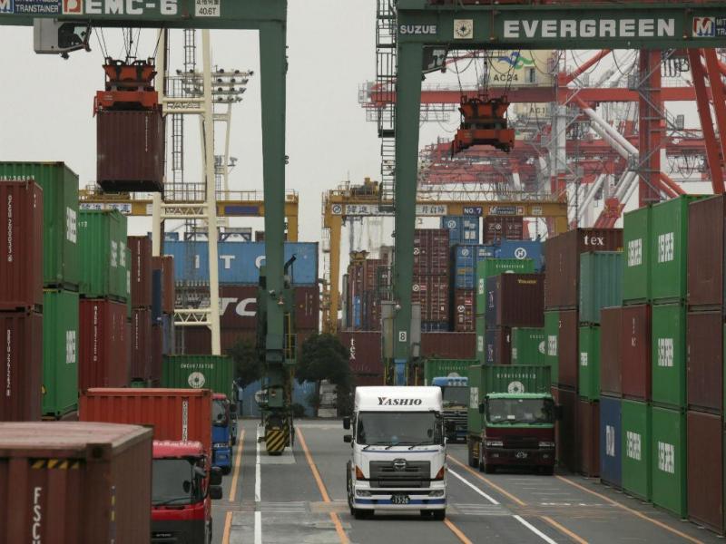 Exportações (LUSA/EPA)