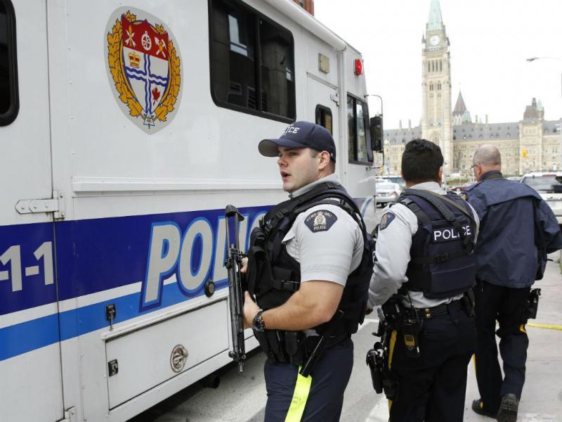 Tiroteios em edifícios públicos do Canadá (REUTERS)