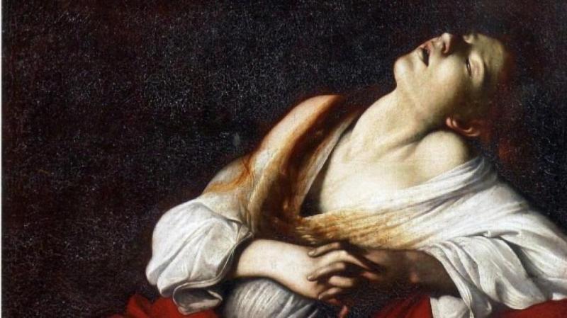«Maria Madalena em Ecstay» de Caravaggio