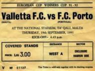 Valletta FC-FC Porto
