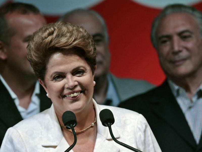 Dilma Rousseff reeleita presidente do Brasil (REUTERS)