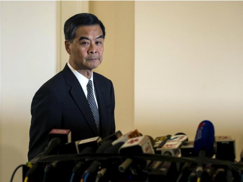 Leung Chun-ying [Reuters]