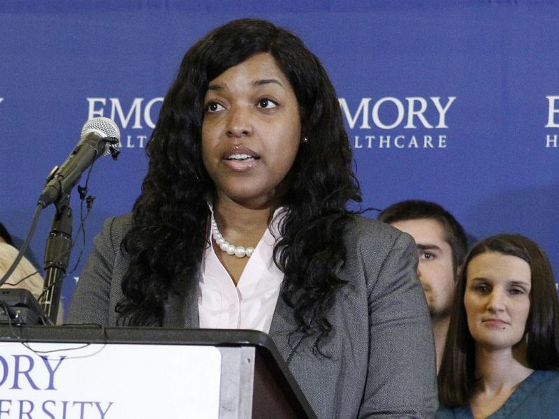 Enfermeira Amber Vinson (REUTERS/Tami Chappell)
