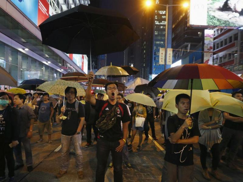 Hong Kong continua «ocupada» pelos chapéus