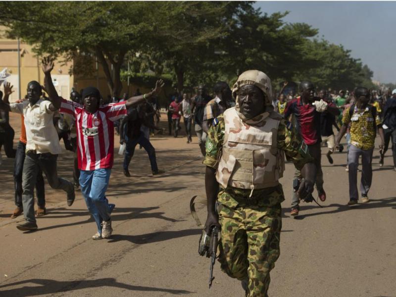 Manifestações em Burkina Faso [Reuters]