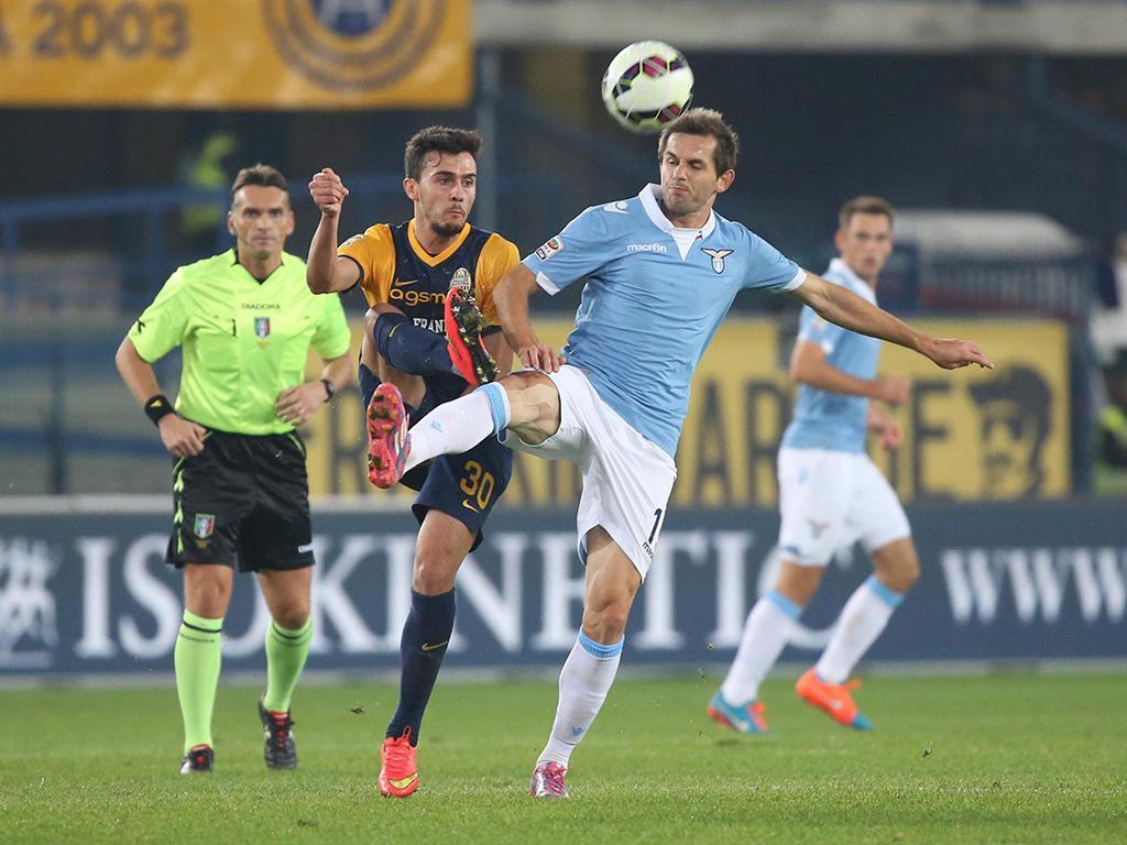 Hellas Verona vs Lazio (EPA)