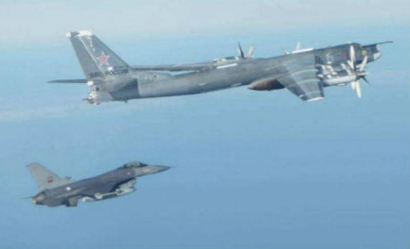 Força Aérea interceta aviões russos [Foto: FAP]