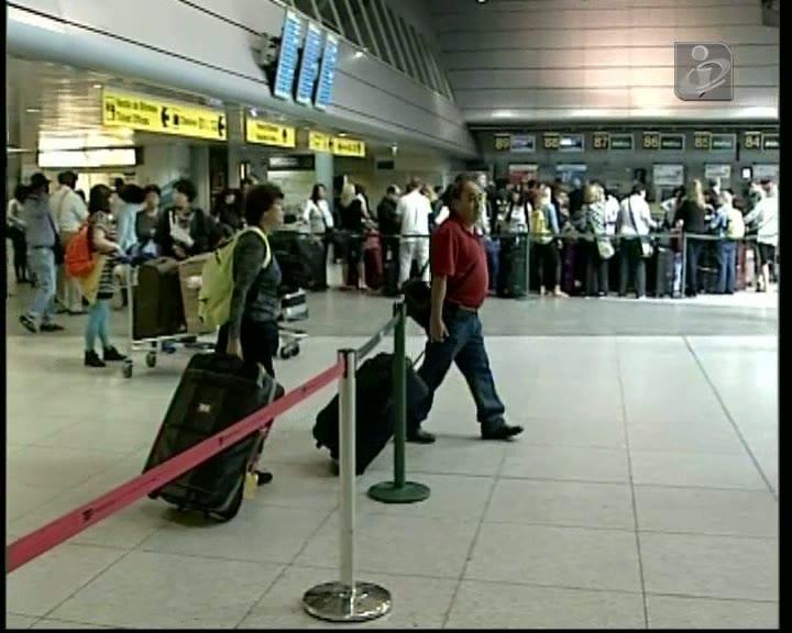 Nenhum voo da TAP saiu de Lisboa nem do Porto