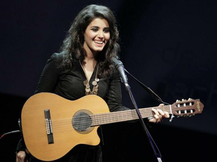 Katie Melua achava que estava a perder a audição, quando descobriu que tinha uma aranha no ouvido (Reuters)