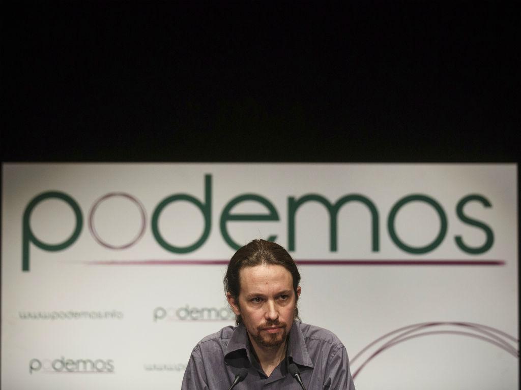 Pablo Iglesias, líder do partido Podemos (REUTERS/Andrea Comas)