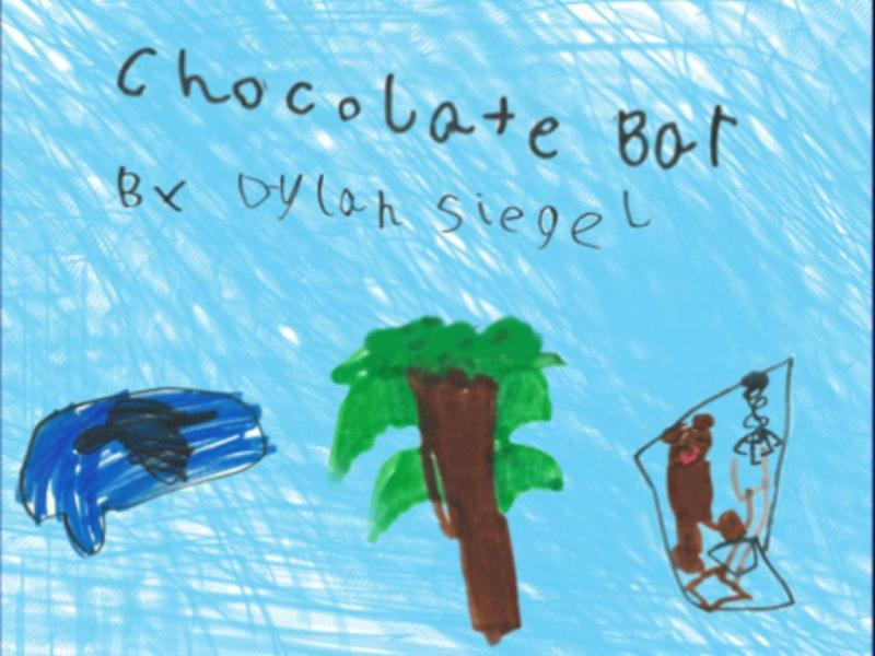 Capa do livro «Chocolate Bar», de Dylan Siegel (Reprodução)