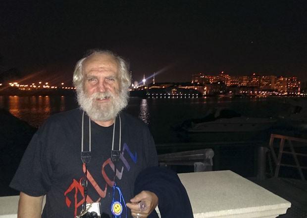 Robert Black em Abu Dhabi