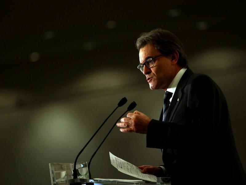 Artur Mas, presidente do Governo Regional da Catalunha (LUSA/EPA)