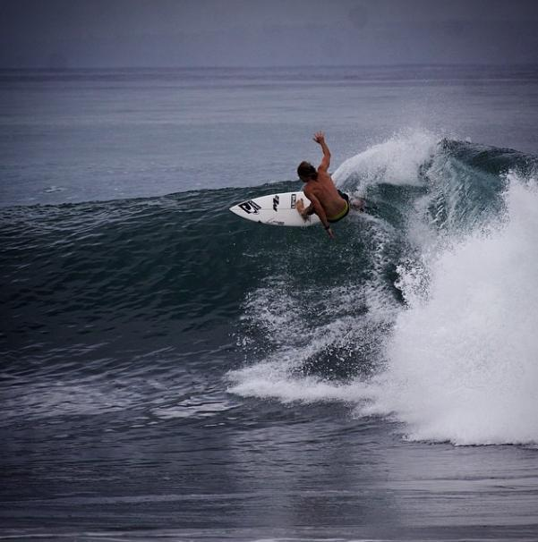 Surfista Ryan Hunt