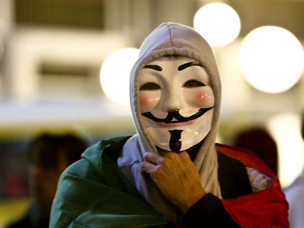 «Million Mask March» dos Anonymous - Lisboa (Lusa)
