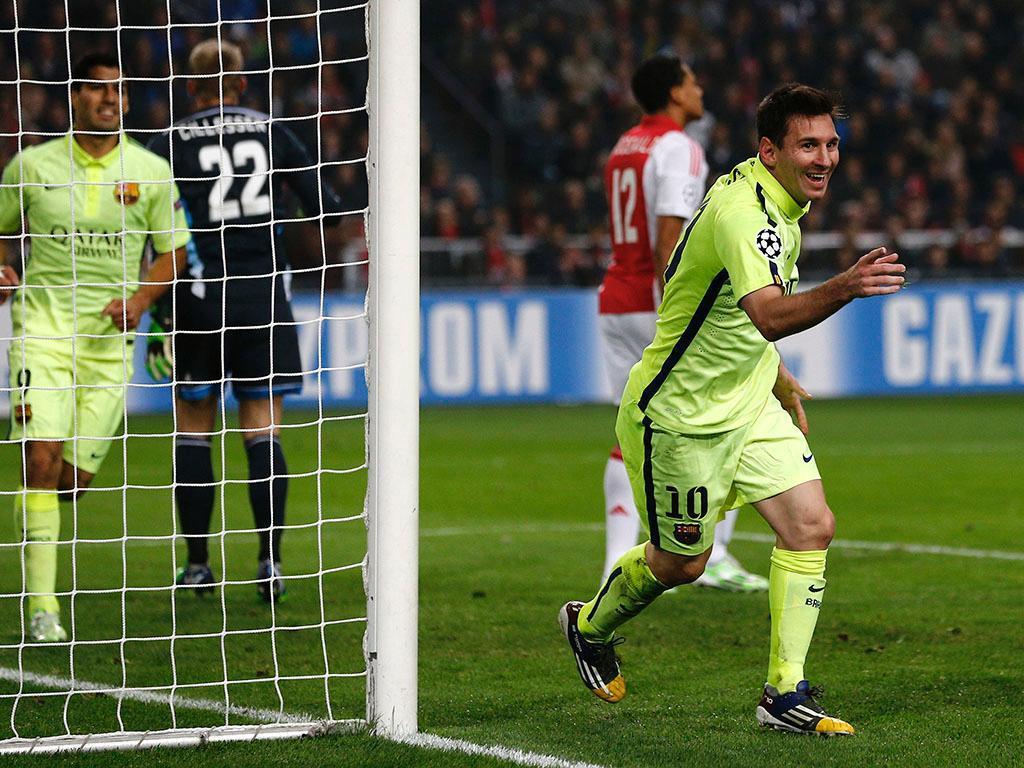 Ajax vs Barcelona