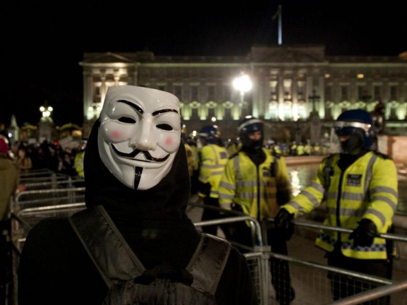 Manifestantes em «confrontos» no centro de Londres (Lusa/EPA)