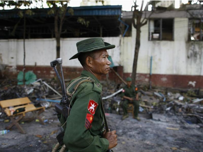 Exército birmanês (Reuters)